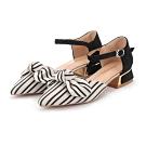 KEITH-WILL時尚鞋館 超有型都會氣質線條粗跟鞋 黑