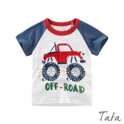 兒童 大輪胎車子印花上衣 TATA KIDS