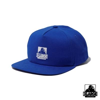 XLARGE OG 5PANEL CAP-五分割帽-藍