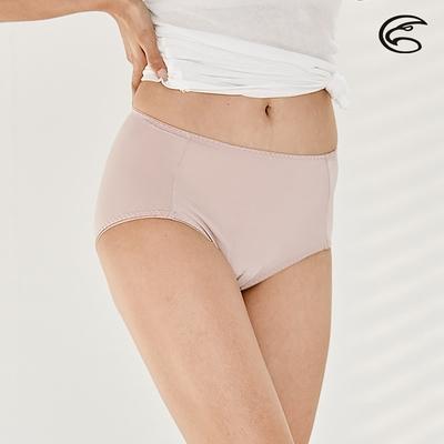 ADISI 女高腰彈性抗菌三角內褲AUP1911048 和風紫