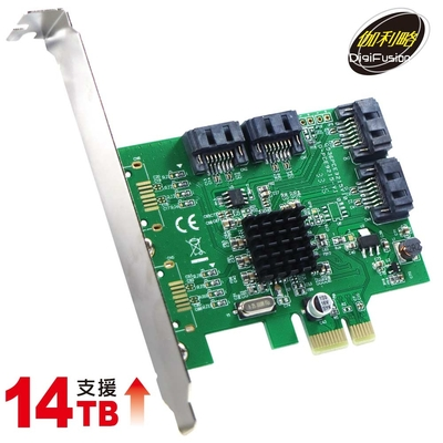 PCI-E SATA III 4 Port 擴充卡(PES340A)