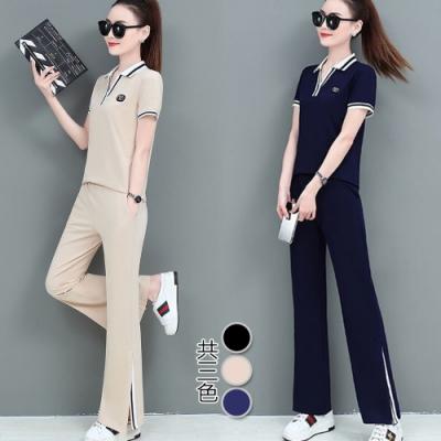 【韓國K.W.】(預購) 好評加碼甜美運動套裝褲