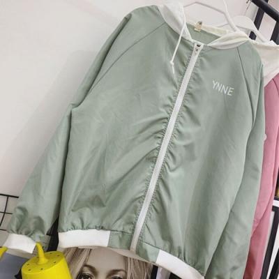 【韓國K.W.】(現貨) 好感吸晴輕薄涼感風衣防曬外套