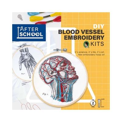 賽先生科學 After School - 人體血管分布刺繡套組