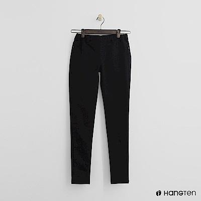 Hang Ten - 女裝 - 鬆緊休閒緊身褲-黑