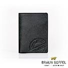 BRAUN BUFFEL - 瑞諾斯系列3卡名片夾 - 黑