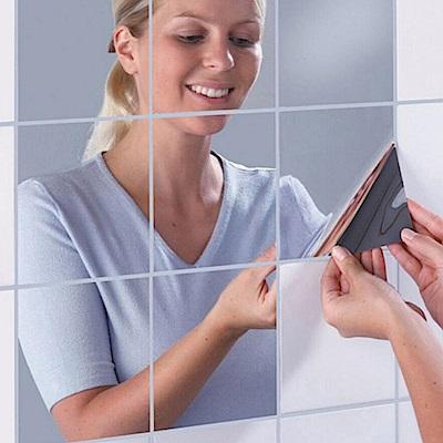 E-dot 萬用鏡面貼紙壁15x15cm(9片/組)