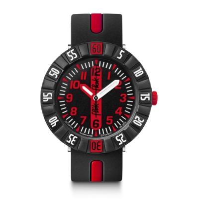 FlikFlak 兒童錶 RED AHEAD紅色目標 -36.7mm