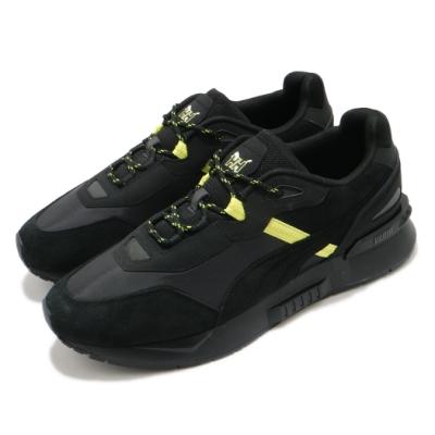 Puma 休閒鞋 Mirage Tech 聯名 男鞋 基本款 麂皮 簡約 舒適 穿搭 黑 黃 38203701