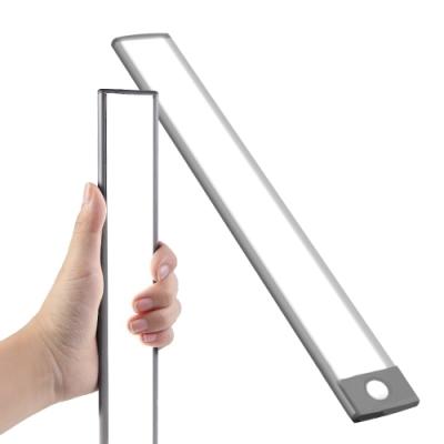 WEI BO 磁吸式無線平板自動感應燈 內置54顆LED燈(32.3公分) (內置裡聚合物電池免牽線)萬用燈