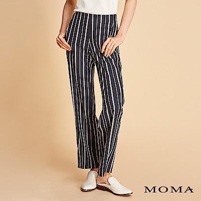 MOMA 條紋針織寬褲