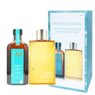 MOROCCANOIL摩洛哥優油二入禮盒(優油125ml+沐浴膠 250ml)-快速到貨