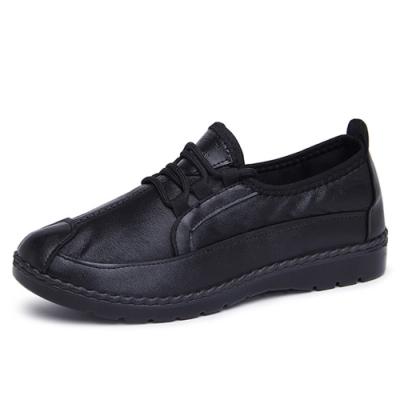 韓國KW美鞋館-經典時尚英倫休閒鞋-黑色
