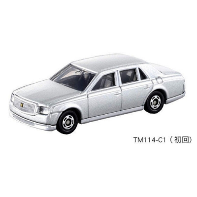 TOMICA No.114 豐田 CENTURY 初回 TM114-C1多美小汽車