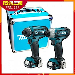 [熱銷推薦] MAKITA牧田 CLX200SX1 12V充電式起子電鑽+