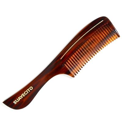 Suavecito 琥珀板料柄梳 Deluxe Amber Handle Comb
