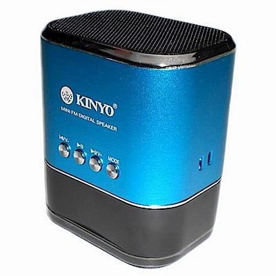 KINYO FM數位顯示讀卡喇叭MPS-377