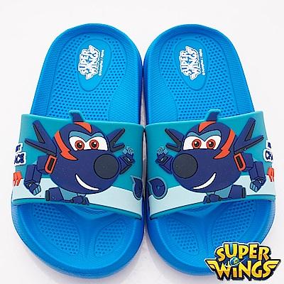 SUPER WINGS 超輕量涼鞋款 NI4704藍(中小童段)