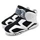 Nike 籃球鞋 Jordan 6 Retro 運動 童鞋 經典款 喬丹 避震 包覆 中童 穿搭 白 黑 CT4416100 product thumbnail 1