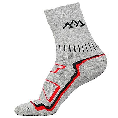 Santo杜邦COOLMAX運動襪登山襪(全厚款,中筒)S016