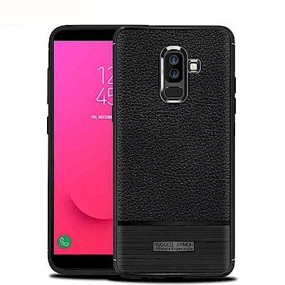IN7 荔枝紋系列 Samsung J8 2018 硅膠TPU保護殼