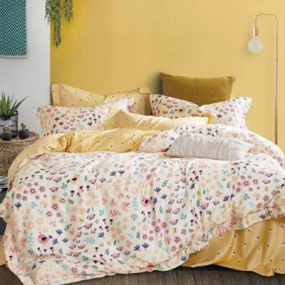 LAMINA 好夢 加大100%天絲四件式兩用被套床包組
