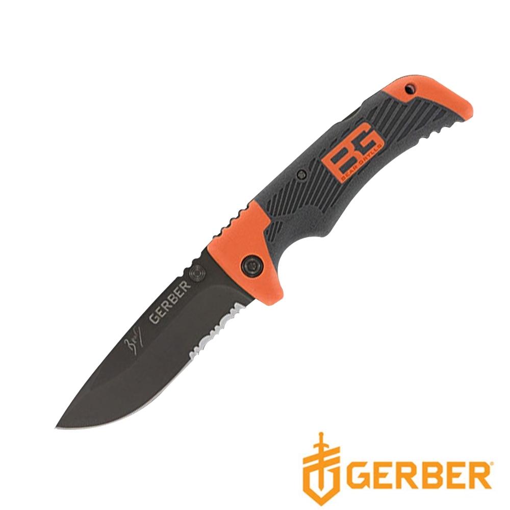 Gerber 貝爾求生系列半齒半刃隨身折刀(泡殼)