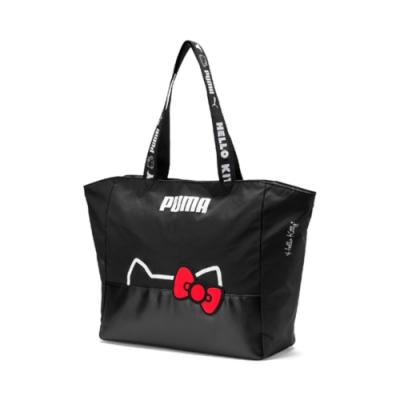 PUMA-女性PUMA x HELLO KITTY購物袋-黑色