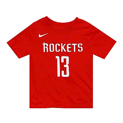 NIKE 幼兒短袖T恤 火箭隊 James Harden