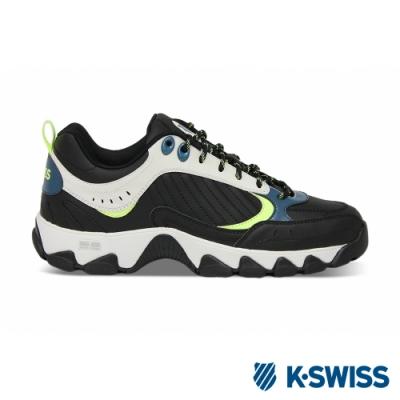 K-SWISS HS329復古老爹鞋-男女-黑/綠