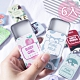 (6入組)固體香膏 可攜式卡通固體香膏 車用載卡片口袋香水10g product thumbnail 1