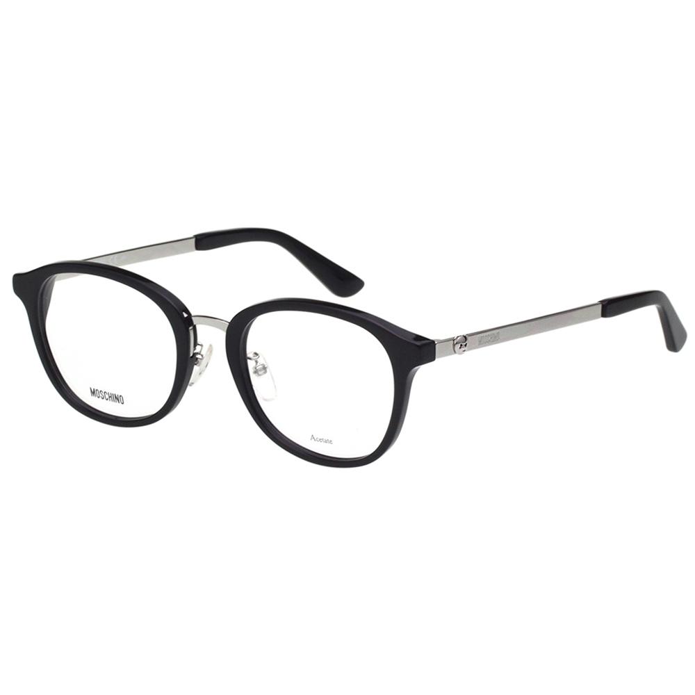 Moschino 小熊 光學眼鏡(黑配銀色)