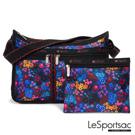 LeSportsac - Standard雙口袋A4大書包-附化妝包 (愛麗絲花園)
