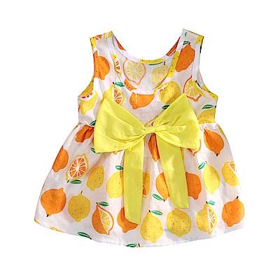 水果印花無袖洋裝 k51121 魔法Baby