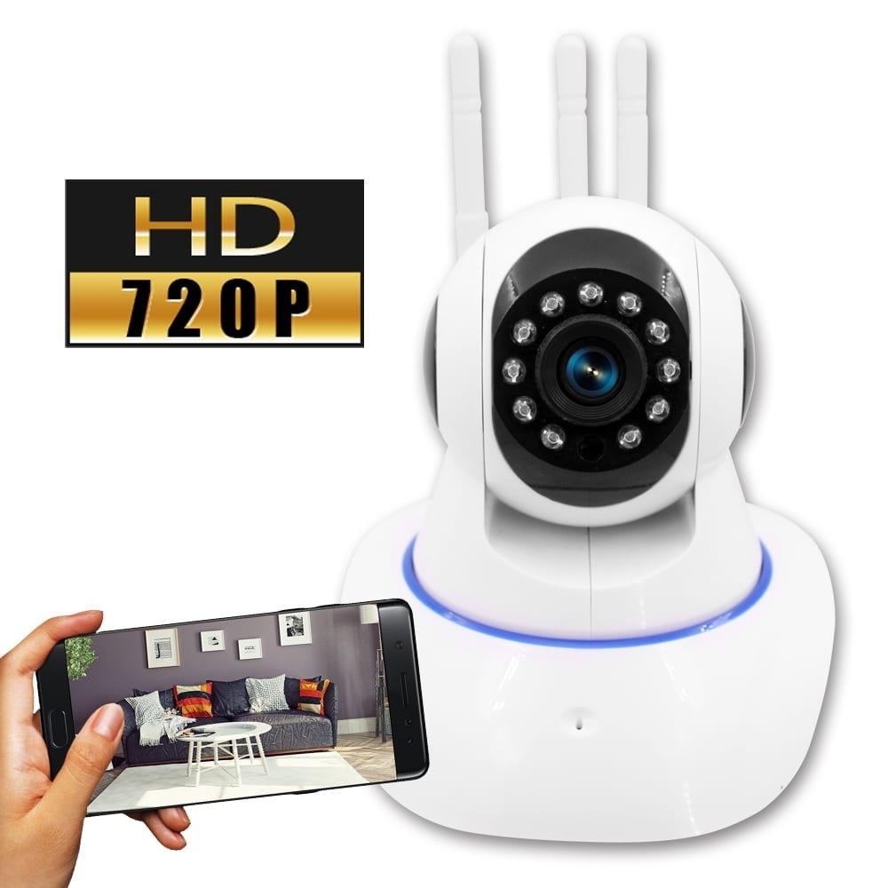 監視者 360度全景紅外線三天線網路監控攝影機