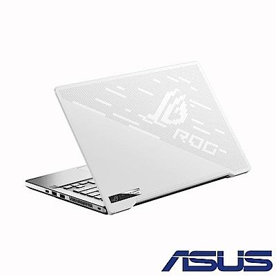 ASUS GA401IU 14吋電競筆電 (R7-4800HS/GTX1660Ti/16G/1T SSD/ROG Zephyrus G14/月光白-有燈版)