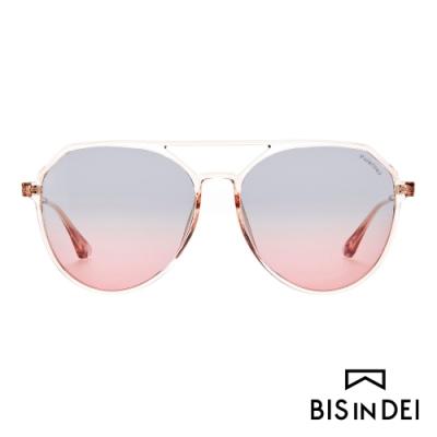BIS IN DEI 雙槓飛行框太陽眼鏡-粉
