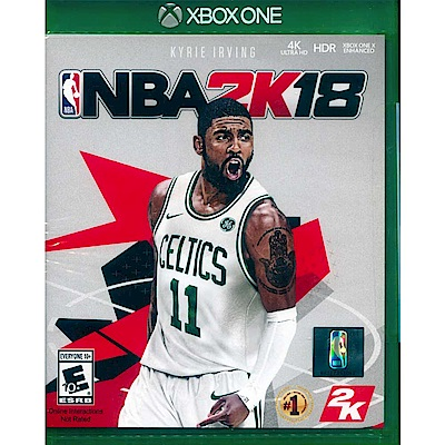 勁爆美國職籃 2K18 NBA 2K18 -XBOX ONE 中英文美版