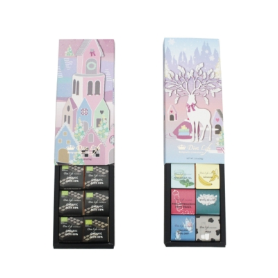Diva Life冬季限定88%巧克力片10入禮盒+綜合口味10入禮盒