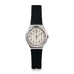 Swatch 金屬系列 C?TES SILVER 銀色海岸手錶