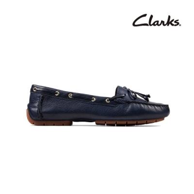 Clarks   純甄品味 C Mocc Boat  女平底鞋  海軍藍   CLF50181SC20