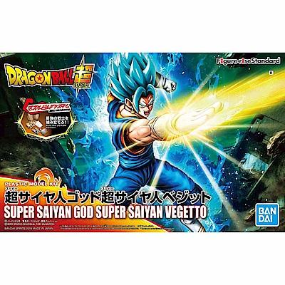 【BANDAI】組裝模型 超級賽亞人之神 超級賽亞人 達洛特