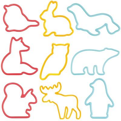 《TESCOMA》餅乾模9件(可愛動物)