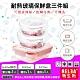 RELEA物生物 耐熱玻璃保鮮盒三件組(640ml雙格粉+950ml圓形+620ml圓形) product thumbnail 1