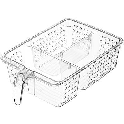 《KitchenCraft》3格握柄冰箱收納盒