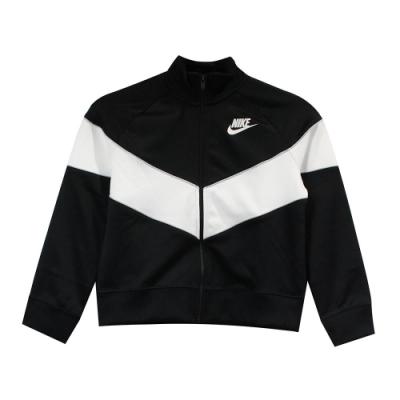 Nike 女 G NSW HERITAGE FZ 尼龍防風外套