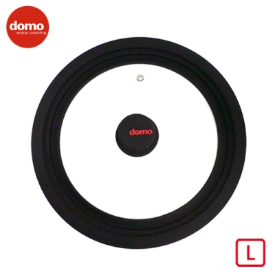 【Domo】 矽膠萬用鍋蓋-L號  (適合28cm/30cm/32cm尺寸鍋)