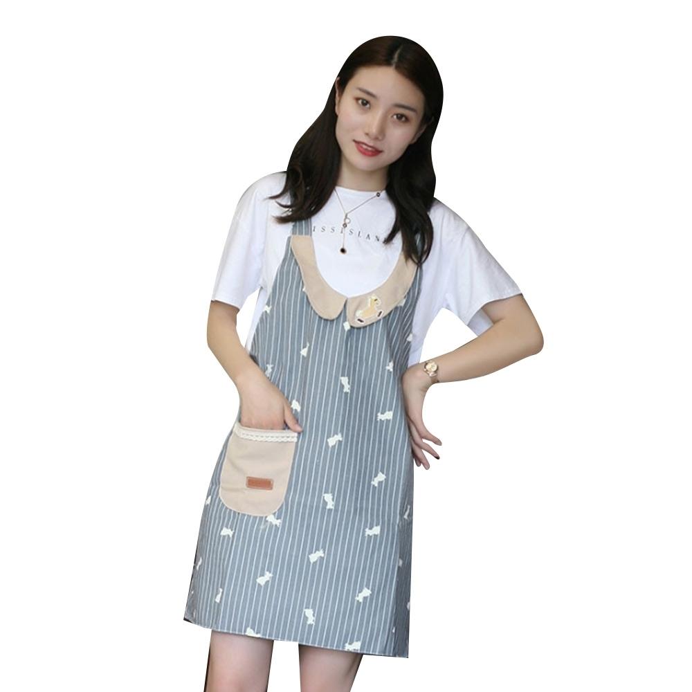 COMET 時尚韓版小馬徽章圍裙(APN-02)