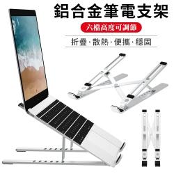 WIWU Macbook 鋁合金筆電散熱支架 筆記本電腦底座 折