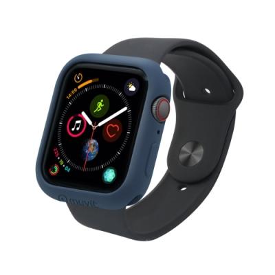 MUVIT Apple Watch Series4 (44mm) 耐衝擊保護殼-午夜藍